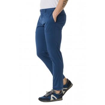 Pantalone Dowel Raso Soft Touc  Azzurro