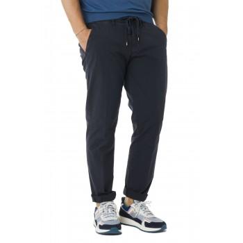 Pantalone laccio  Blu