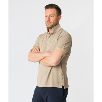 Polo Front Aereoplano  Beige