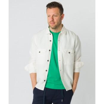 Giacca camicia  Bianco