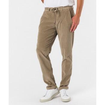 Pantalone Laccio cvelluto 500  Beige