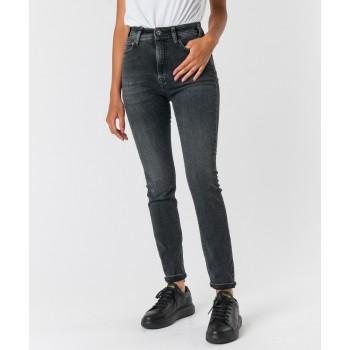 Jeans Marylin skinny stretch  Grigio