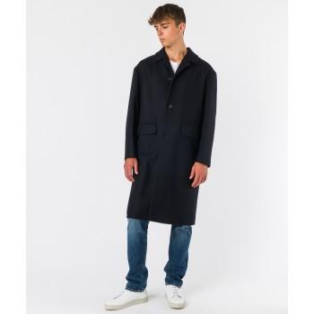 Cappotto Cavallino unito - Blu