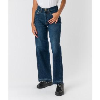 Jeans Right gamba dritta  Blu