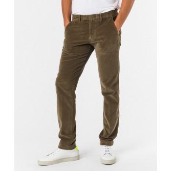 Pantalone velluto 1000 righe  Fango