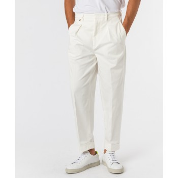 Pantalone Jerome gabardina  Bianco