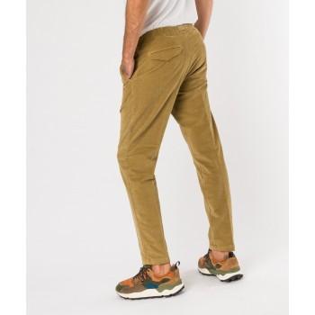 Pantalone Greg cinghia velluto Beige