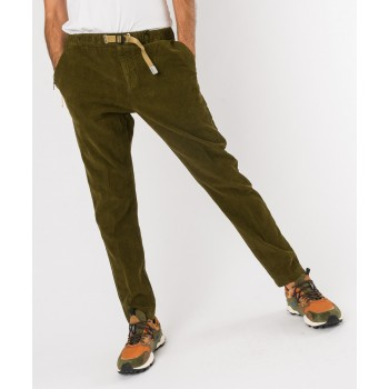 Pantalone Greg velluto Verde