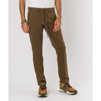 Pantalone Laccio cotone-modal  Fango