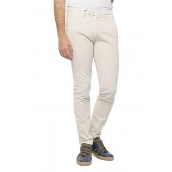 Pantalone Velluto costa Francese Panna
