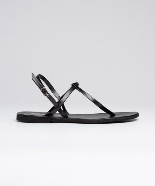Sandalo Archita Laminato  Nero