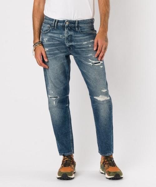 Jeans Pony strappi  Azzurro